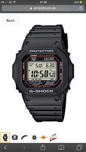 Casio G-Shock Men's Watch GW-M5610-1ER £66.60 @ Amazon