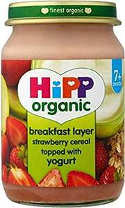 Poundstretcher Hipp organic breakfast layer 19p