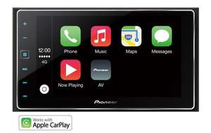 Halfords Ex Display Pioneer SPH-DA120 Car Stereo with Apple CarPlay