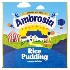 Rice pudding multipack tins £1.06 for four tins @ Asda