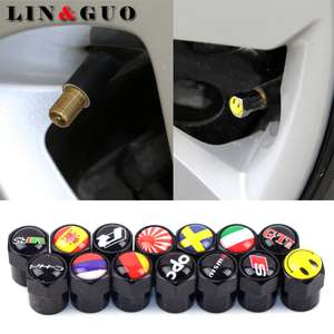 4pc Tyre Dust Cap Many Styles Audi/Nissan/VW/Skoda + MORE 79p @ Aliexpress (Shop3199023) Delivered