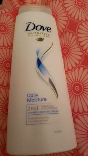 Dove 400ml daily moisture 2in1 shampoo and conditioner £1 instore @ asda