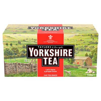 Taylors of Harrogate Yorkshire 240 Tea Bags £4 @ ASDA