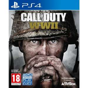 Call of Duty: WWII, PS4 + XB1 £27.95 Delivered @ The Game Collection