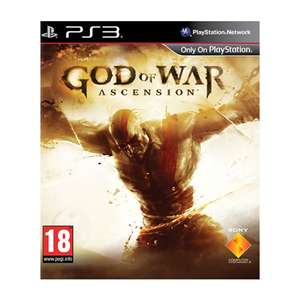 CEX - Pre-owned God of War Ascension ps3 £5 or £6.50 for home delivery MULTIPLAYER STILL WORKS @ CeX