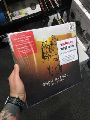 Snow Patrol - Final Straw on Vinyl @ £9.99 / PureHMV Members