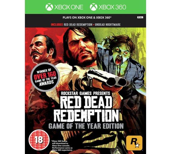 Red Dead Redemption GOTY edition (Xbox One/Xbox 360) - £11.99 @ Argos online/in store