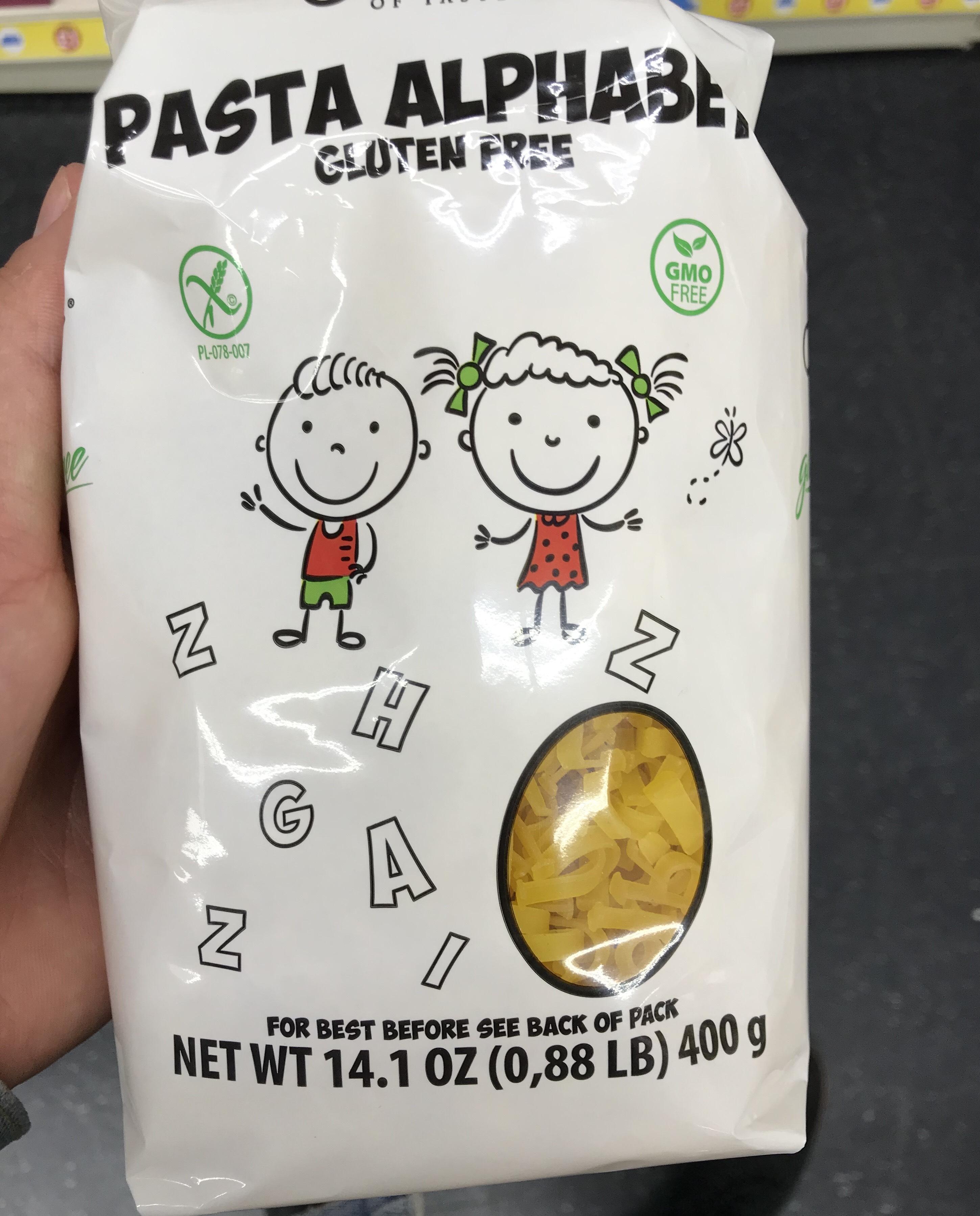 Gluten free pasta alphabet 400g - £1 instore @ Poundworld