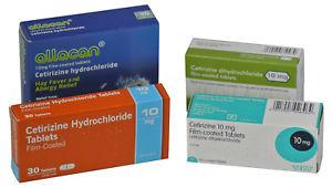 12 x Cetirizine - 30 tablets. £6.99 incl p&p @eBay / HomeHealth-UK