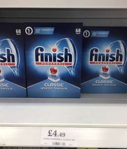 Finish classic dishwasher tablets 6p each!! £4.49 @ HomeBargains