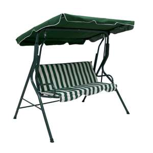 Swinging 3 Seater Outdoor Chair / Lounger £46.95 delivered @ eBay /  rtwdirectsales