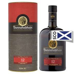 Bunnahabhain 12 year old Malt Whisky 70cl - £30 @ Waitrose