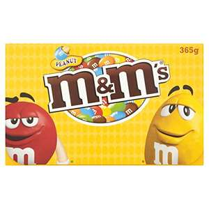 M&M's Peanut Gift Box, 365 g, Pack of 3 - £5 @ amazon (add on item)
