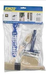 Set of 3 paint brushes and stirrer for just £1.01 delivered @  boxclearance  ebay