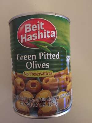 Green Pitted Olives - £1 instore @ Tesco