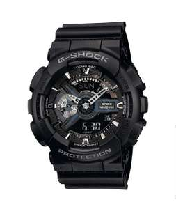 Casio Men's G-Shock Resin Strap Watch, Black, World Time, 200m WR £62.37 @Amazon