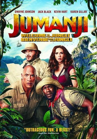 Jumanji: Welcome To The Jungle Buy & Keep DVD FREE on Sky Store