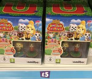Animal Crossing: Amiibo Festival - Special Edition (Wii U) £5  In store Poundland
