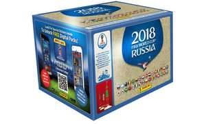 Panini World Cup 100 packs of stickers Russia 2018 £52 on groupon with code