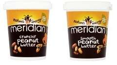 Meridian Crunchy and Smooth Peanut Butter 454g Reduced to £2 @ Asda