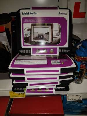 Tablet car seat headrest holder £2.50 instore @ Asda Watford