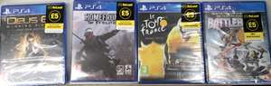 PS4 Games Brand New Sealed Just £5 Each @ Poundland