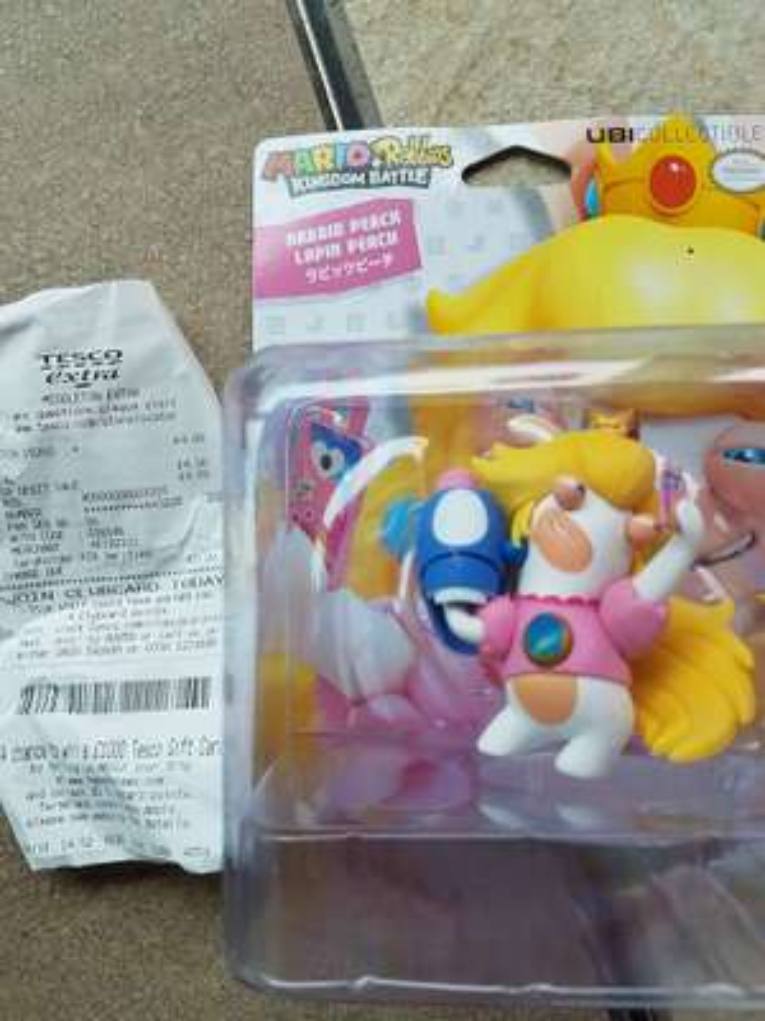 Mario + Rabbids Kingdom Battle Figures £4 (Tesco Middleton)
