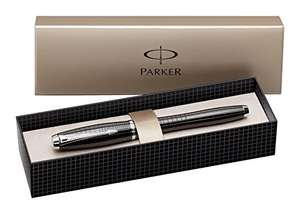 Parker S0911490 Urban Premium Rollerball Pen with Gift Box, Ebony Lacquer and chrome - was £40 now £22.29 @ Amazon