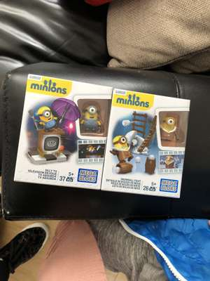 Mega Bloks Minions play sets. £1.99 @ Home Bargain