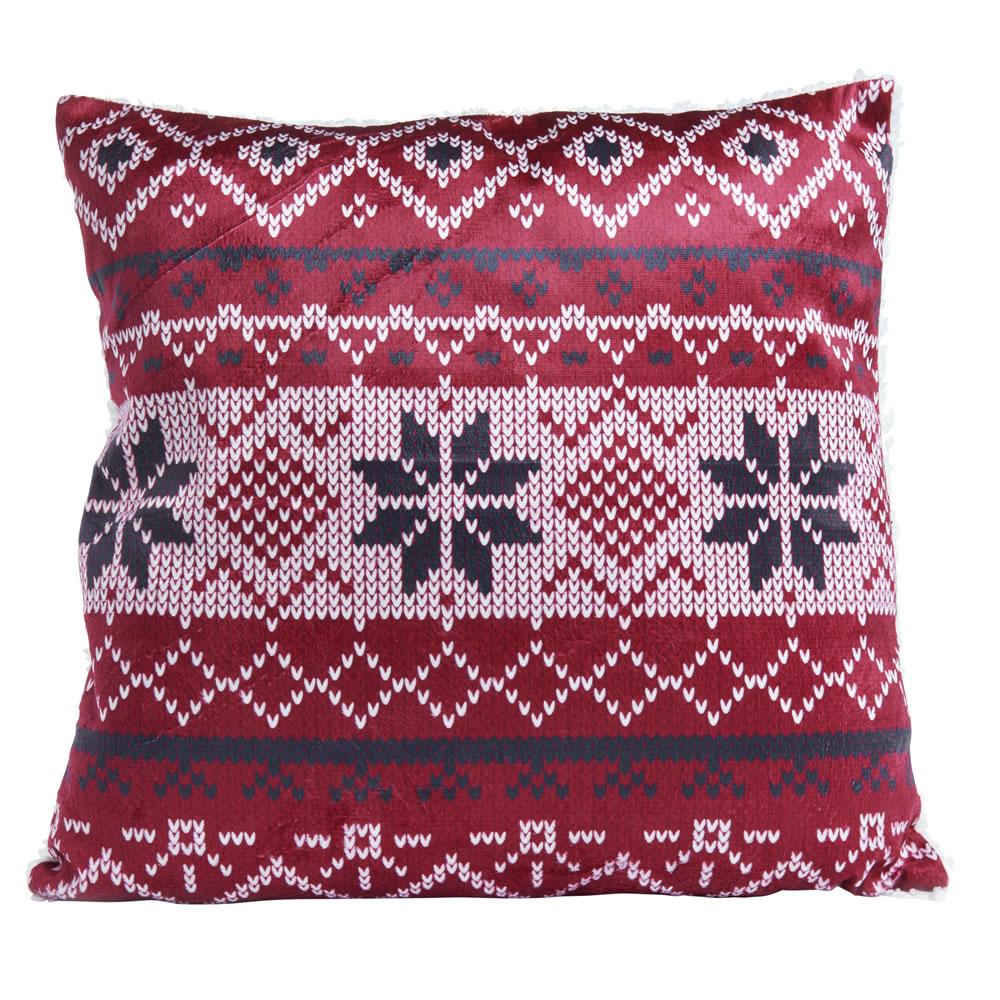 Wilko Scandi Print Cushion 43 x 43cm 0441310 1p instore
