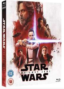 Star Wars Episode VIII The Last Jedi on blu ray for £12 at Morrisons when spending £40 instore on groceries