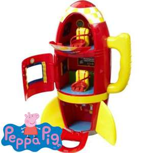 Peppa Pig Spaceship £14.99 @ Home Bargains In store or online(+£3.49 P&P)