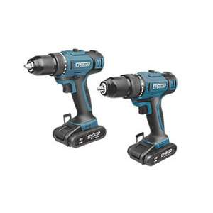Erbauer Combi drill and drill driver 18v 2.0ah £109.99 inc free delivery @ Screwfix