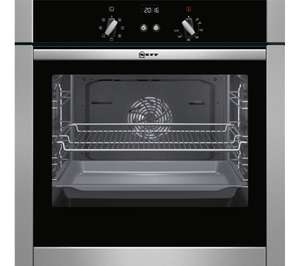 NEFF B44M42N5GB Slide & Hide Electric Oven - Stainless Steel £459 - claim £50 cashback x2 @ Currys