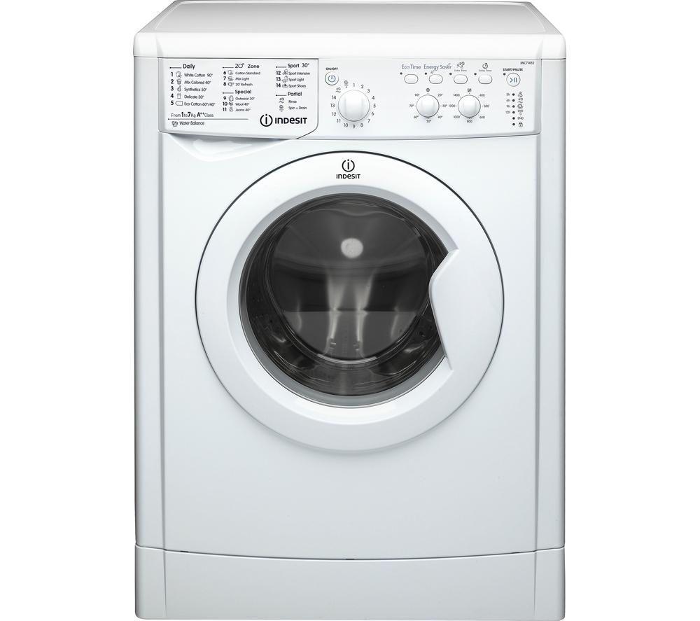INDESITIWC71452 ECO Washing Machine - White £189 Currys