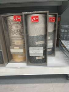 Tea Coffee Sugar Stacked Storage Canisters 7 99 In Poundstretcher