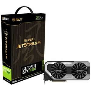 GeForce GTX 1080 Super Jetstream 8192MB GDDR5X PCI-Express Graphics Card £509.99 @ OverclockersUK