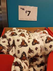 Bambi hooded throws £7 instore Leicester Primark