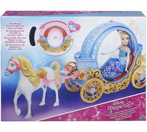 Disney Princess Cinderella's Magical Transforming Carriage now £12.99 at Argos