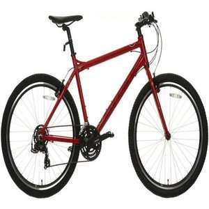 Carrera Axle Mens Hybrid Bike Red £162/w code (plus possible further discount) @ Halfords