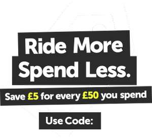 Save £5 for Every £50 you Spend on Cycle Products with Code @ Hargroves Cycles
