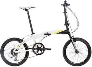 Compass high spec alloy folding bike just £299 at Go Outdoors (RRP £400).  UK designed and light weight.