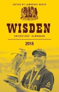 Wisden Cricketers' Almanack 2018 - £37.50 @ A Great Read