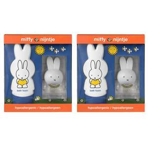 TWO Miffy Nijntje Unisex Giftsets (Contains 50ml EDT & 250ml Bath Foam) £5.50 delivered @ Tesco eBay outlet