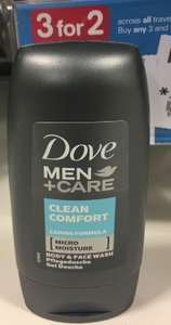 Dove Men+ Care Body & Face wash 8p @ Boots (3 for 2 as well)