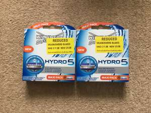 Wilkinson Sword hydro 5.- 8 pack of blades just £8.50 at Morrisons instore