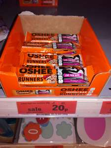 Oshee High energy Vitamin Muesli Bar 40g    20p Sainsbury's instore