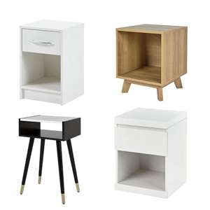 Upto 40% off Tesco bedroom furniture - Bedsides from £16 with free C&C (See OP for more)