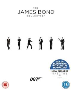 The James Bond Collection 1-24 Blu-ray £44.99 (15% off using MVC15 + 0.99 delivery) = £39.23 @ Zavvi