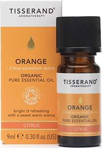Tisserand orange organic essential oil 9 ml for £1.78 (60% off) @ Amazon [add-on item or Subscribe and Save]